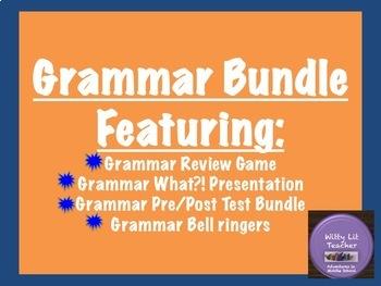 Grammar Review: Bundle