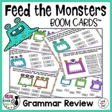 Grammar Review Task Cards | Digital Boom Cards