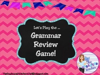 Grammar Review Game- 2nd Edition!