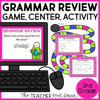 Grammar Review Game   Grammar Review Center   Grammar Activities