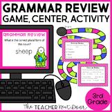 Grammar Review Game 3rd Grade | Grammar Review Center | Gr