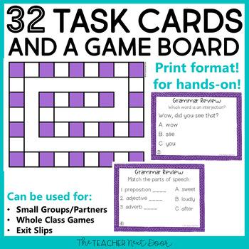 Grammar Review Game for 5th Grade | Grammar Review Center for 5th Grade