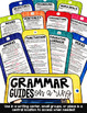 Grammar Review Reference Guides for a Key Ring