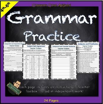 Grammar Review Homework