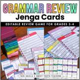 Grammar Review Jenga Game