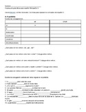 Grammar Review Packet for Spanish 3 Spanish 4 IB Spanish Midterm Final Descubre