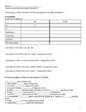 Grammar Review Packet for Spanish 3 Spanish 4 IB Spanish M