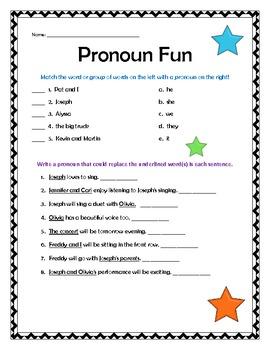 Grammar Review- Pronouns, Adjectives, Verbs, & Nouns!