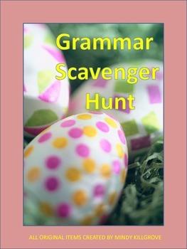 Grammar Review: Scavenger Hunt