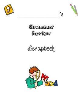 "Grammar Review ""Scrapbook"""