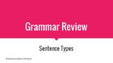 Grammar Review - Sentence Types