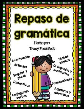 Grammar Review (Spanish)