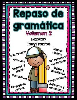Grammar Review (Spanish) - Volume 2