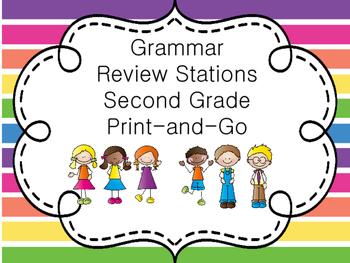 Grammar Review Stations
