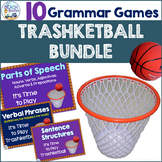 Grammar and Language Review Trashketball Bundle (10 +1 Games)
