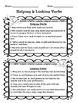 Grammar Review: VERBS