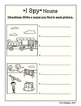Grammar Review Workbook Nouns-Adjectives-Verbs-Pronouns