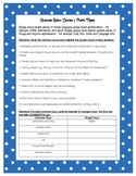 Grammar Review Worksheet - Common & Proper Nouns