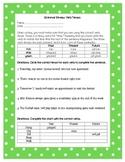 Grammar Review Worksheet - Verb Tenses