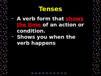 Grammar Revision Slides - Using Verb Tenses