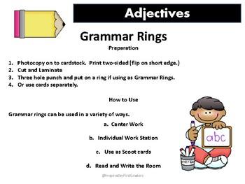 Grammar Rings