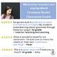 Grammar Rocks! Classroom Charts provide 31 Grammar Minilessons