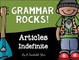 Indefinite Articles- Grammar Pack