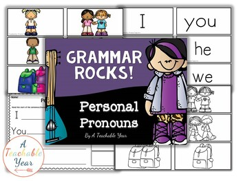 Personal Pronouns- Grammar Pack