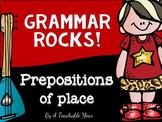 Prepositions- Grammar Pack