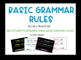 Grammar Rules Bulletin Board