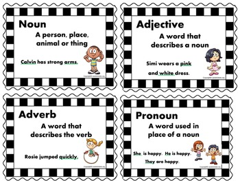 Grammar Rules Posters Printable Worksheets and Activities