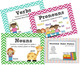 Grammar Rules Posters with Word Examples - Noun, Verb, Adj