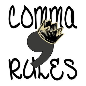 Grammar Rules for Using Commas Quick Reference