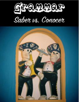 Grammar: Saber vs Conocer