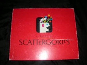 Grammar Scattegories!