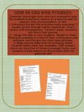 Grammar Scavenger Hunt and Review Bundle