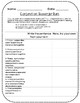 Grammar Scavenger Hunt and Review: Conjunctions