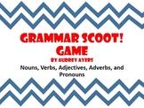 Grammar Scoot Game - Parts of Speech, ELA Review