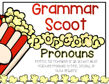 Grammar Scoot - Pronouns