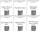 Grammar Scoot - Simple Sentences with QR Codes