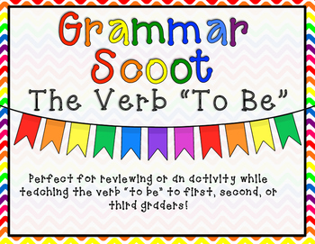 "Grammar Scoot - The Verb ""To Be"""