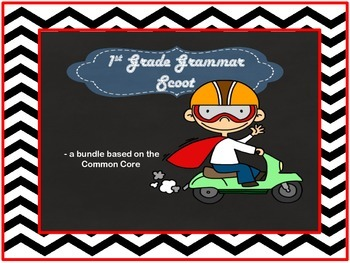 Grammar Scoot -  grammar games based on Common Core Standards