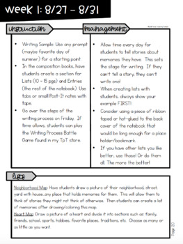 Grammar Scope & Sequence w/Daily Activities and Calendar: 4th Grade