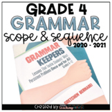 Grammar Scope and Sequence 4th Grade