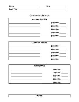 Grammar Search