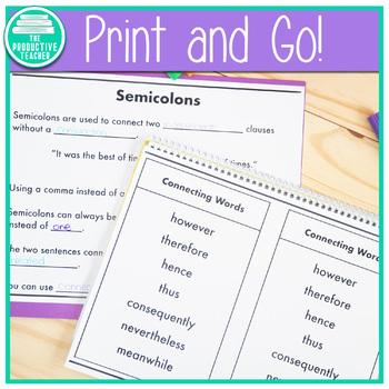 Grammar: Semicolon