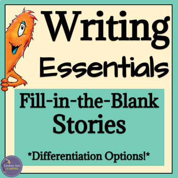 Grammar & Sentence Fluency Writing Activities for High School Students