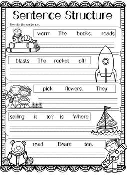Grammar: Sentences!