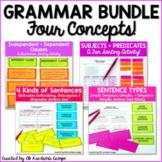 Grammar Bundle Sentence Sorting Activities