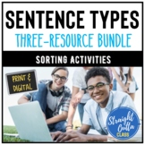 Grammar Sentences Sort Activity Bundle